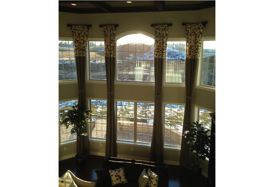 We Recently Finished Making And Installing All Of The Window Treatments Designed By Idms For Model Home In Ashland Meadows